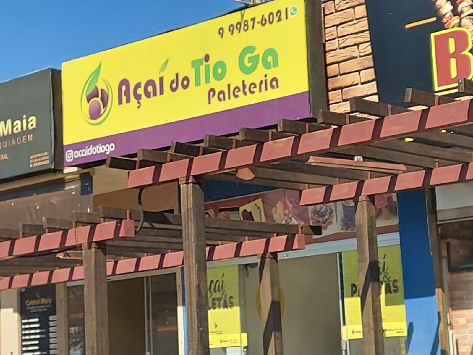 Açai do Tio Ga Paleteria Comércio do Condominio RK, Sobradinho-DF, Comércio Brasilia