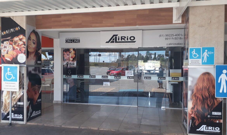 Alirio Cabeleireiro Altana Shopping, subida do colorado