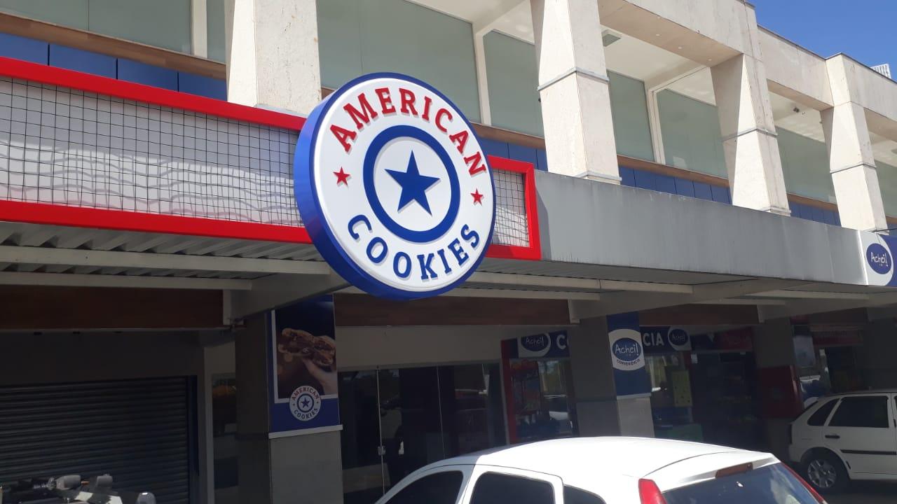 American Cookies Altana Shopping, subida do colorado