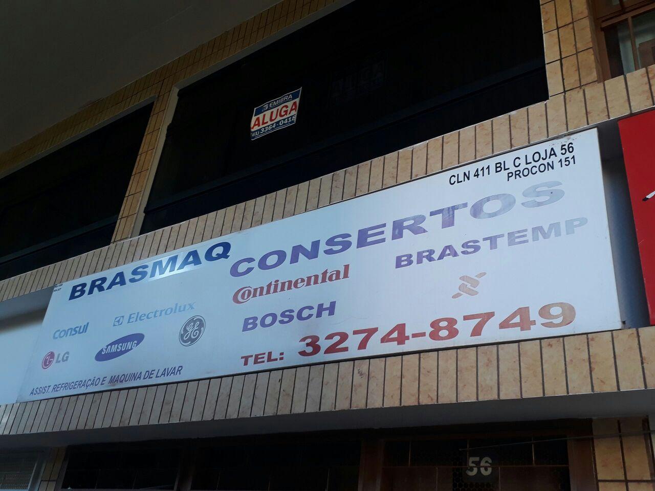 Brasmaq, ssistencia técnica especializada em refrigeração e máquina de lavar roupa, Bloco C, da 411 Norte, Asa Norte, Brasília