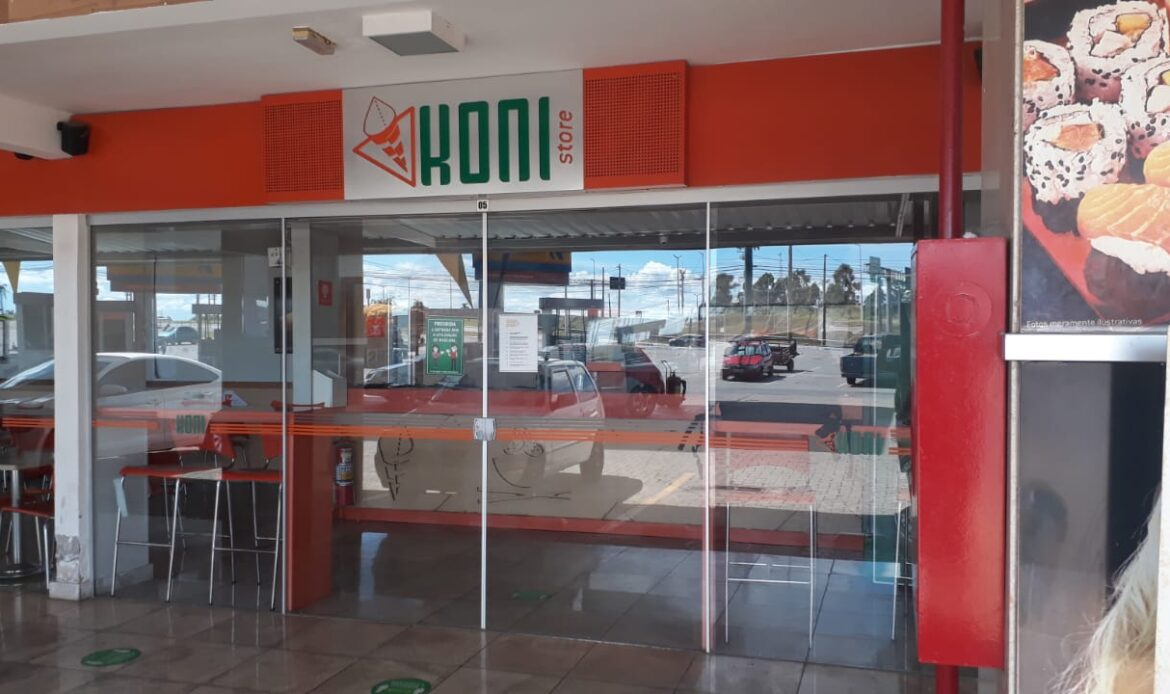 Koni Store, Altana Shopping, subida do colorado