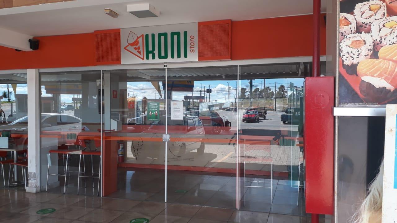 Koni Store, Altana Shopping, subida do colorado