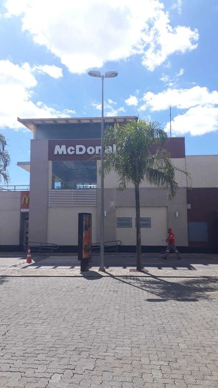 Mc Donalds do Altana Shopping, subida do colorado