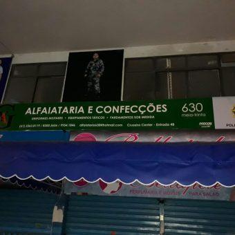 630, Alfaiataria e Confeções, especialista e fardamento militar, Cruzeiro Center, Cruzeiro, Comércio Brasilia