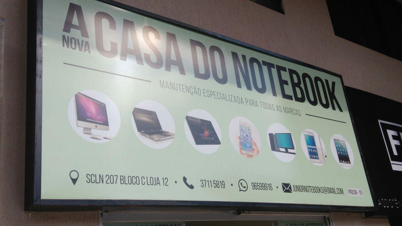 A Nova Casa do Notebook, manutenção especializada para todas as marcas