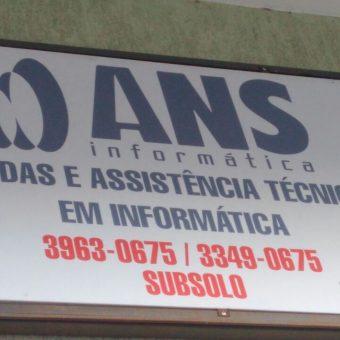 ANS Informática, Vendas e Assistência Técnica em Informática, CLN 406, Subsolo, Asa Norte, Comercio Brasilia