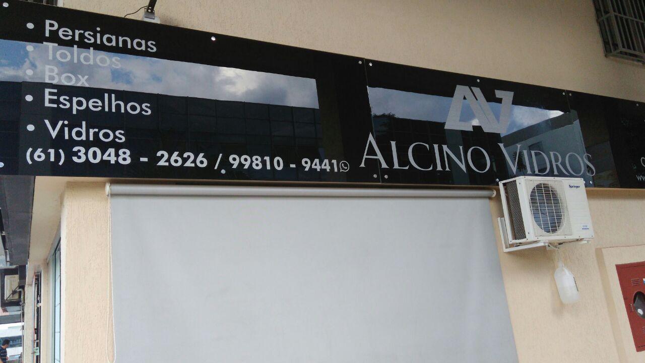 Alcino Vidros e Persianas, toldos, box, espelhos, CLN 406, Bloco A, Asa Norte, Comercio Brasilia