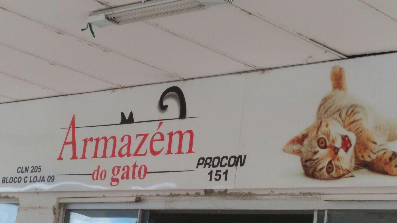 Armazém do Gato, Pet Shop, CLN 205, Bloco C, Asa Norte, Comércio Brasilia