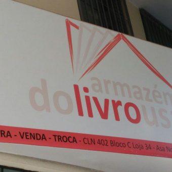 Armazém do Livro usado, compra, venda, troca, CLN 402, Norte, Bloco C, Asa Norte, Comércio Brasilia