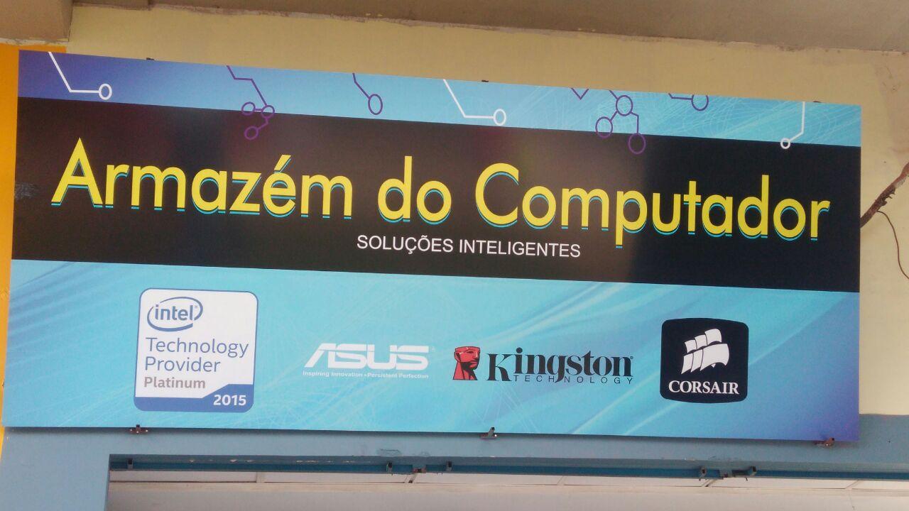 Armazem do Computador, soluções Inteligentes, CLN 207, Rua da informática, Bloco A, Asa Norte, Comércio Brasilia