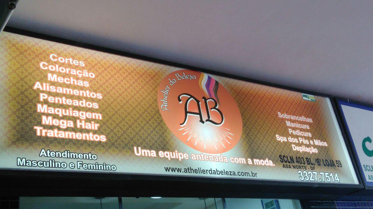 Athelier da Beleza, Salão de Beleza, Unissex, CLN 403, Norte, Bloco B, Asa Norte, Comércio Brasilia