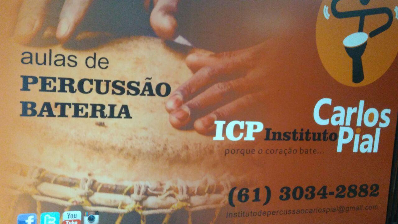 Aulas de Percussão Bateria, ICP, CLN 207, Rua da informática, Bloco C, Asa Norte, Comércio Brasilia