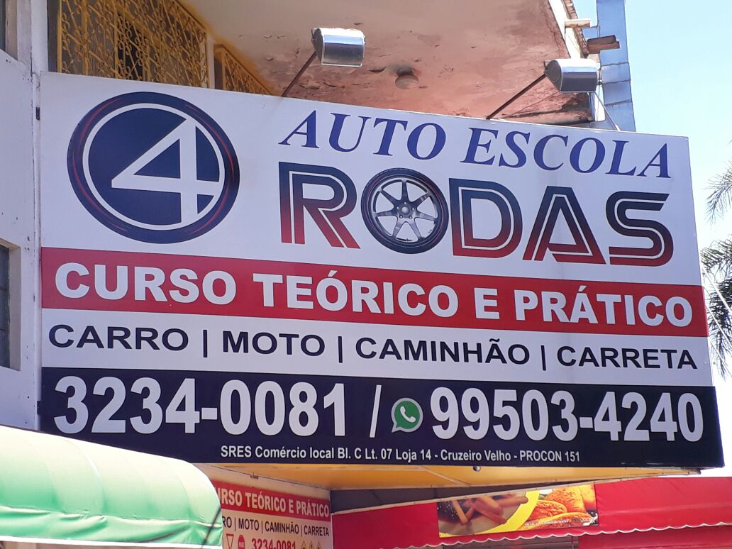 Photo of Auto Escola Rodas,  Curso teórico e prático, Cruzeiro Center, Cruzeiro