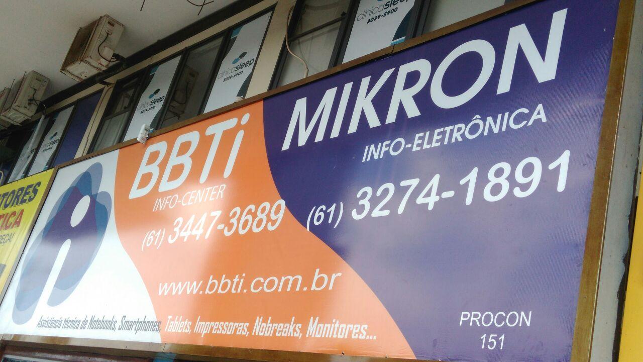 BBTI Informática e Eletrônica, CLN 207, Bloco C, Asa Norte, Comércio Brasilia