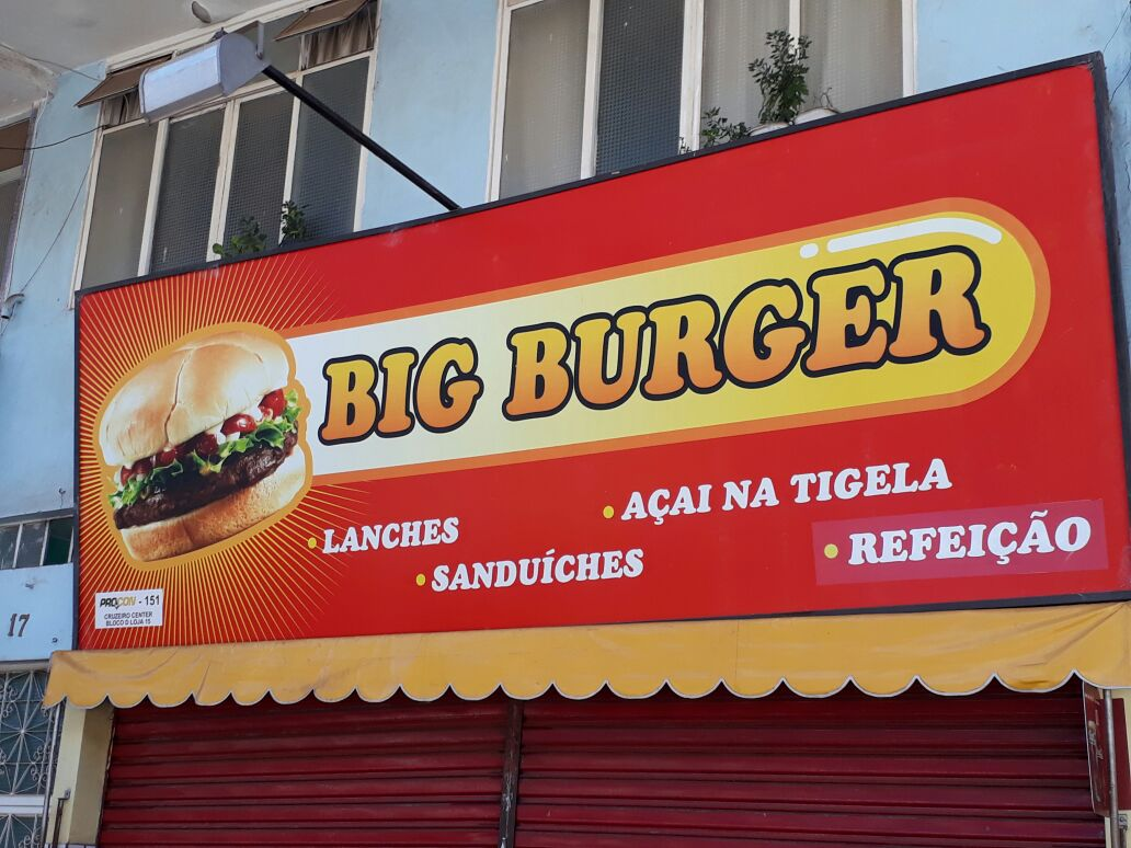 Photo of Big Burger Lanchonete, Cruzeiro Center, Cruzeiro