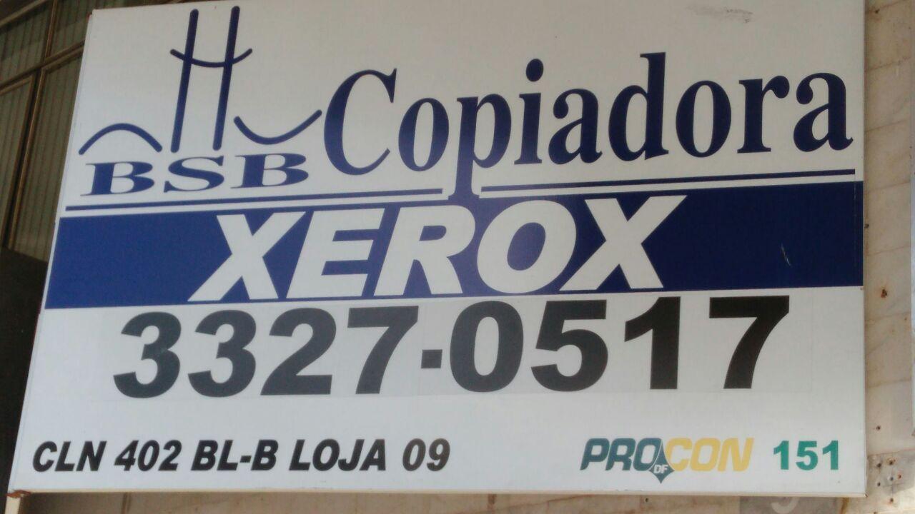 Bsb Copiadora, Xerox, CLN 402, Norte, Bloco B, Asa Norte, Comércio Brasilia