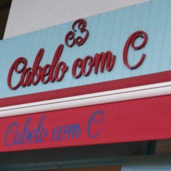 Cabelo com C, Cabeleireiro, CLN 203, Bloco D, Asa Norte, Comercio Brasília