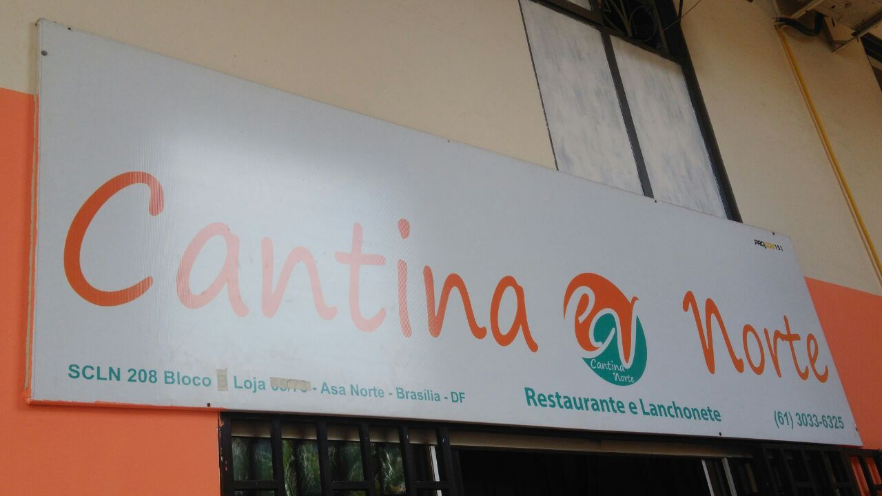 Cantina Norte Restaurante, CLN 208, Rua da informática, Asa Norte, Comércio Brasilia