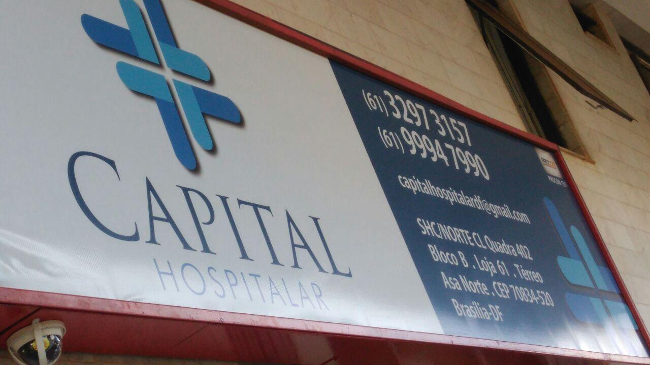 Capital Hospitalar, produtos hospitalares, CLN 402, Norte, Bloco B, Asa Norte, Comércio Brasilia
