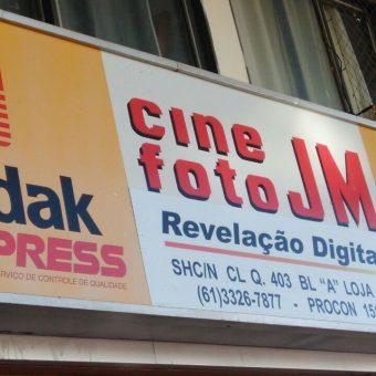 Cine Foto JM, Revelação Digital, CLN 403, Norte, Bloco A, Asa Norte, Comércio Brasilia