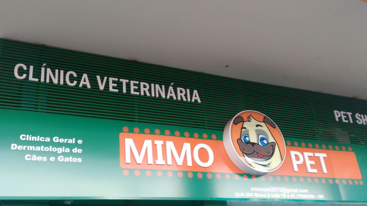 Clínica Veterinária Mimo Pet, Clínica Geral e Dermatologia para cães e gatos, SCLN 204, Norte, Bloco A, Asa Norte, Comércio Brasilia