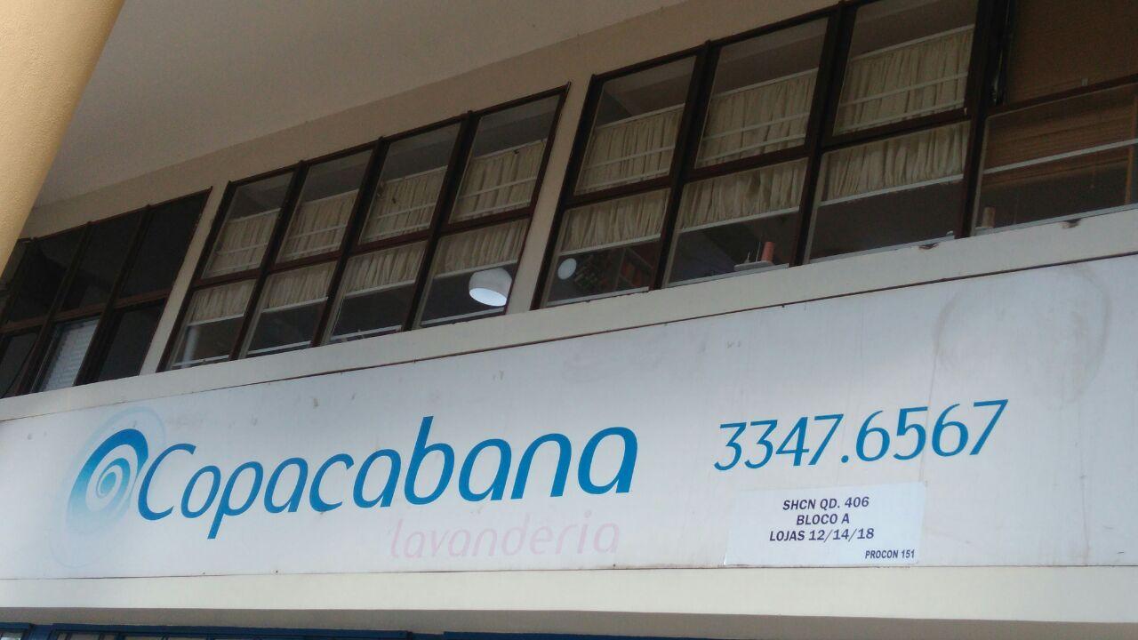 Copacabana Lavanderia, SCLN 406, Bloco A, Asa Norte, Comércio Brasilia