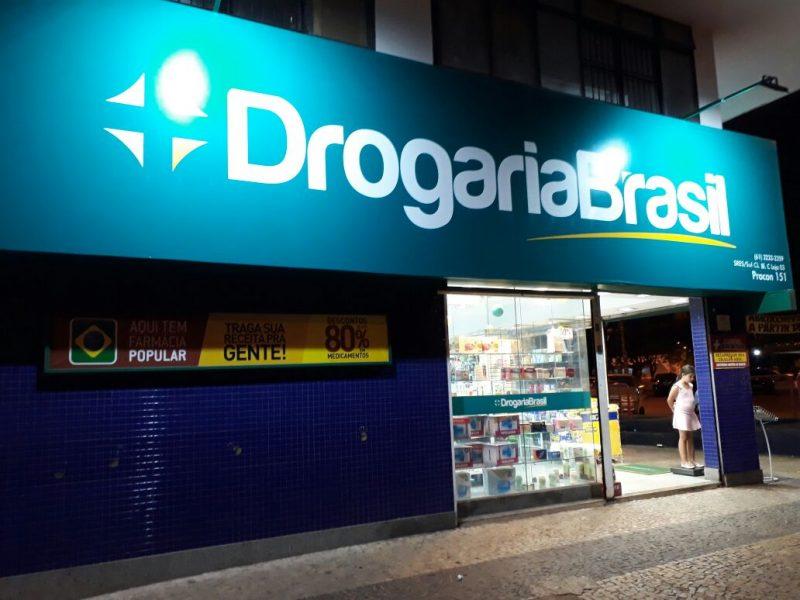 Drogaria Brasil, Cruzeiro Center, Cruzeiro, Comércio Brasilia