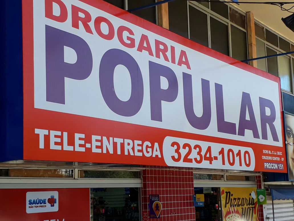 Photo of Drogaria Popular, Cruzeiro Center, Cruzeiro