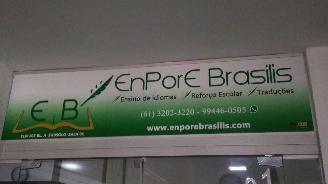 EnPro Brasíliis, Ensino de Idiomas, Reforço Escolar, Traduções, CLN 208, Bloco A, subsolo, Asa Norte, Comércio Brasilia