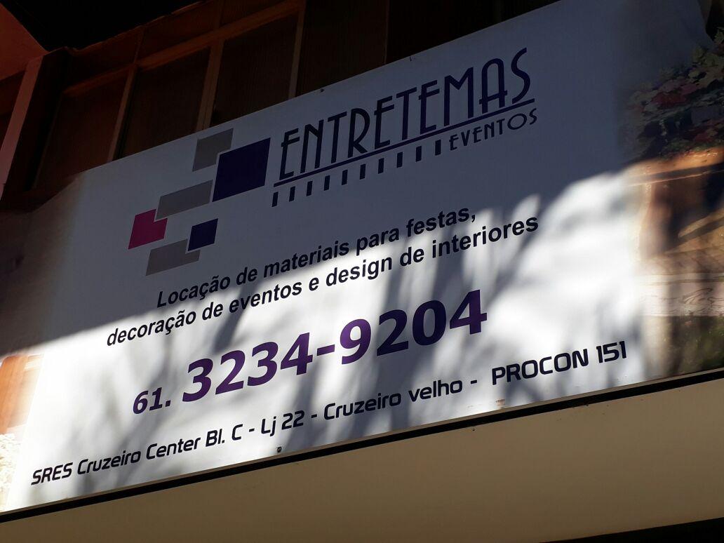 Entretemas Eventos, locação de materias para festas, decoração de eventos, e designe de interiores, Cruzeiro Center, Comércio Brasilia