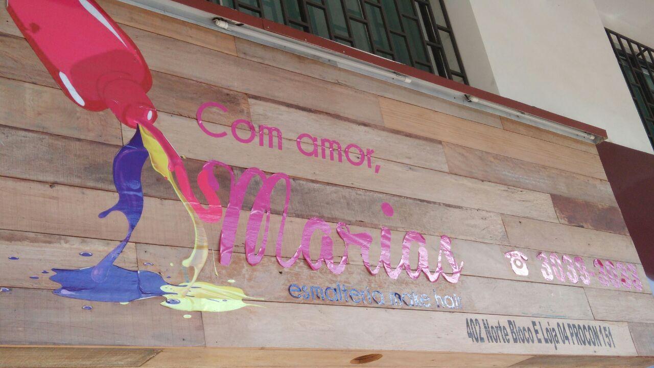 Esmalteria com amor Marias, CLN 402, Norte, Bloco E, Asa Norte, Comércio Brasilia