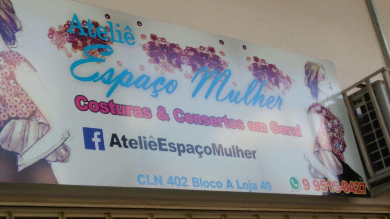 Espaço Mulher, Costura e Consertos em Geral, Ateliê, CLN 402, Norte, Bloco A, Asa Norte, Comércio Brasilia
