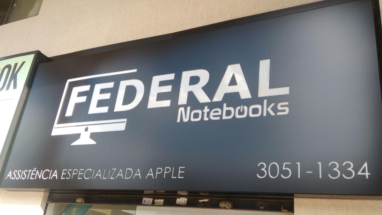 Federal Notebooks, Assistência Técnica Apple, CLN 207, Rua da informática, Bloco C, Asa Norte, Comércio Brasilia
