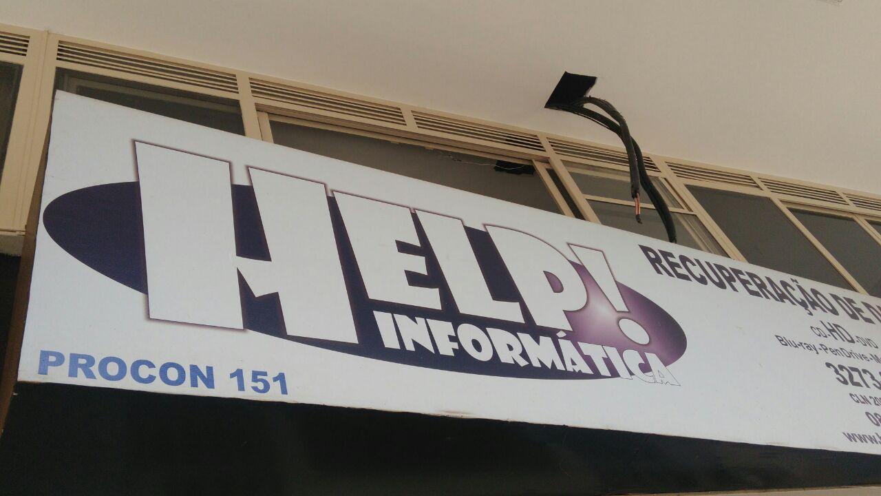 Help Informática, CLN 208, Rua da informática, Bloco C, Asa Norte, Comércio Brasilia