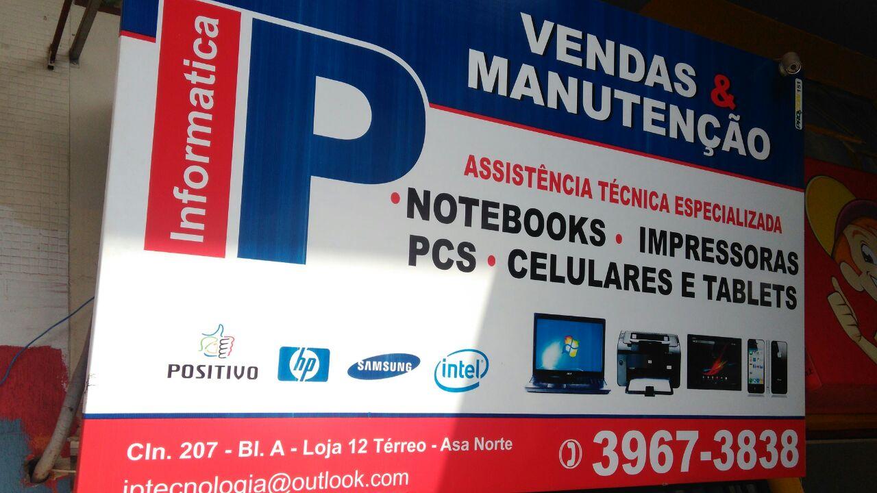 IP Informática, Venda e Manutenção, CLN 207, Rua da informática, Bloco A, Asa Norte, Comércio Brasilia