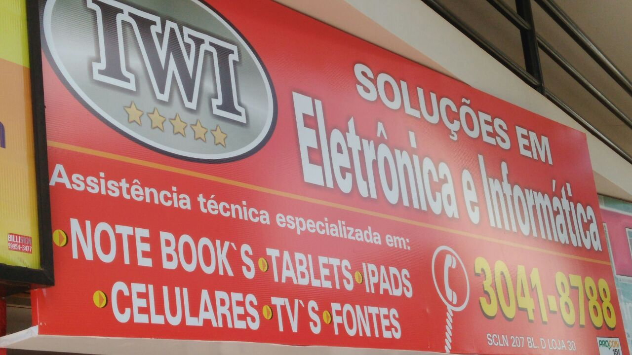 Photo of IWI Soluções em Eletrônica e Informática CLN 207, Asa Norte