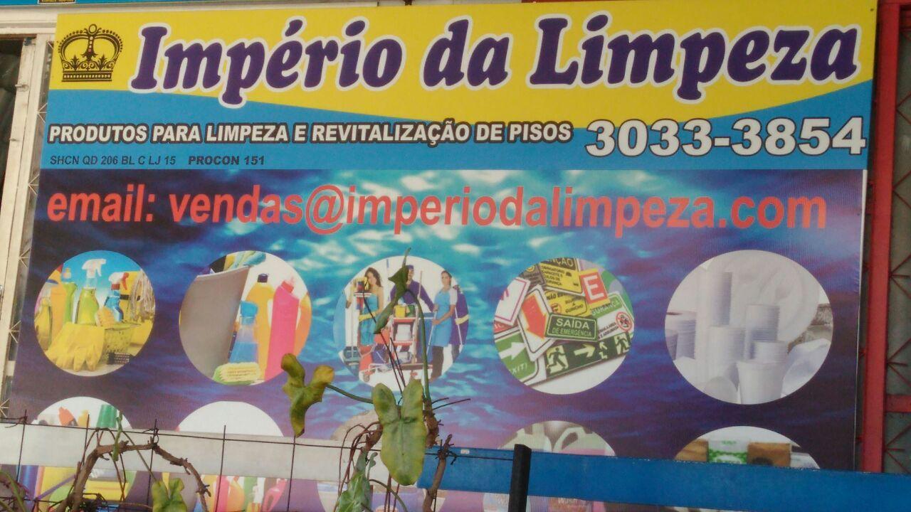 Império da Limpeza, produtos para limpeza e Revitalização de pisos, SHCN 206, Bloco C, Asa Norte, Comércio Brasilia