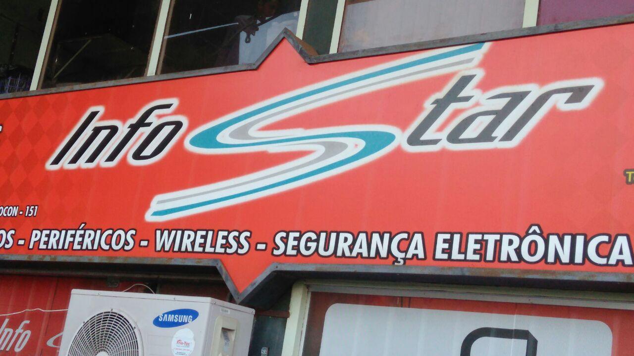 InfoStar, Informática, Periféricos, Wireless, segurança eletrônica, CLN 406, Bloco D, Asa Norte, Comercio Brasilia