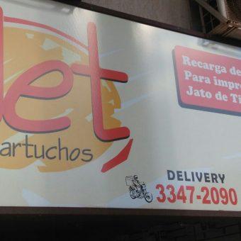 Jet Cartuchos, CLN 207, Rua da informática, Bloco C, Asa Norte, Comércio Brasilia
