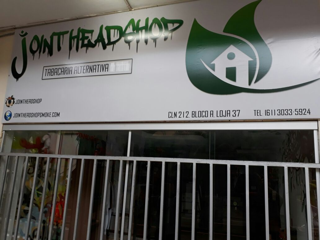 Joint Head Shop, Tabacaria Alternativa, 212 Norte, Bloco A, Asa Norte, Comercio Brasilia