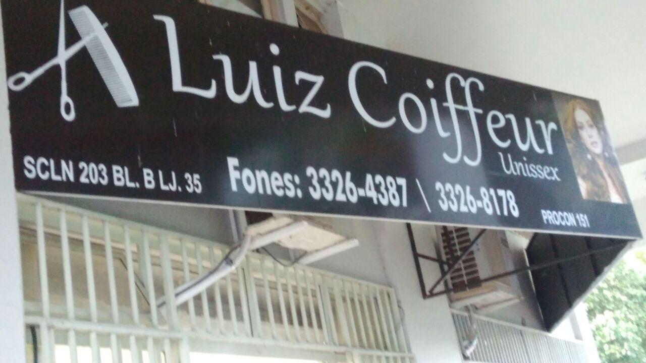 Luiz Coiffeur, Unissex, CLN 203, Bloco B, Asa Norte, Comercio Brasília
