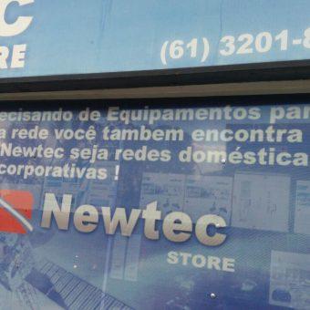 Newtec Store, redes domésticas e corporativas, CLN 406, Bloco E, Asa Norte, Comercio Brasilia