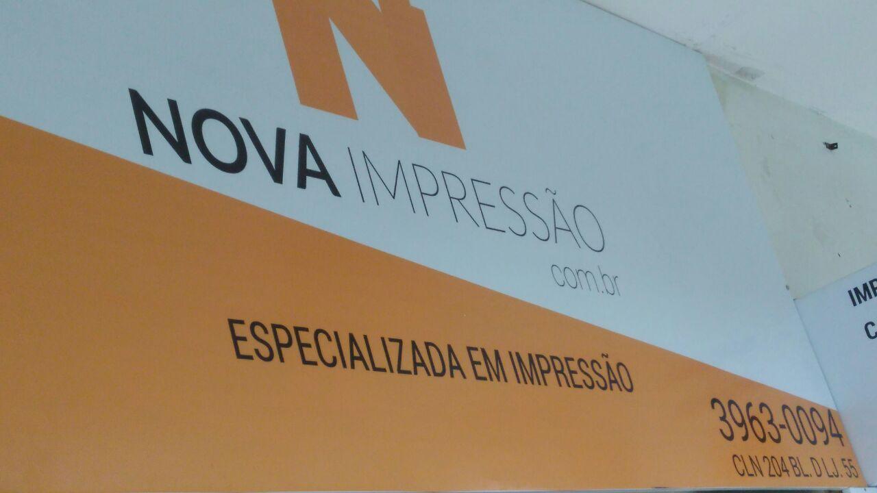 Nova Impressão, Especializada em impressão, CLN 204, Norte, Bloco D, Asa Norte, Comércio Brasilia