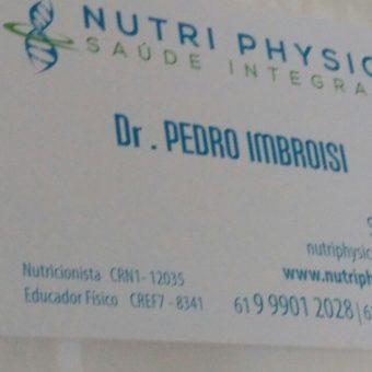 Nutri Physics, Saúde Integrada, Dr. PEDRO IMBROISI, Nutricionista e Educador Físico, SCLN 204, Norte, Bloco C, Asa Norte, Comércio Brasilia