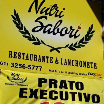 Nutri Sabor, Restaurante e Lanchonete, Prato Executivo, Cruzeiro Center, Comércio Brasilia