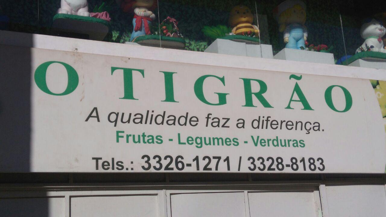 O Tigrão, Hortifruti, frutas, legumes, verduras, CLN 402, Norte, Bloco C, Asa Norte, Comércio Brasilia