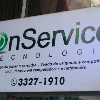 On Service Tecnologia, Informática, Recargas, manutenção micro e notebooks, CLN 406, Bloco E, Asa Norte, Comercio Brasilia