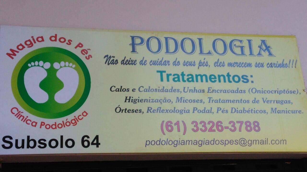 Podologia Magia dos Pés, CLN 402, Norte, Bloco A, Asa Norte, Comércio Brasilia