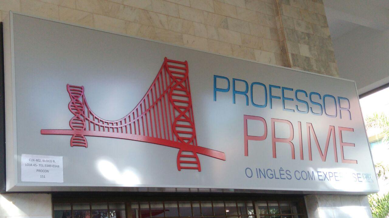 Professor Prime, Inglês com experiense, CLN 402, Norte, Bloco B, Asa Norte, Comércio Brasilia