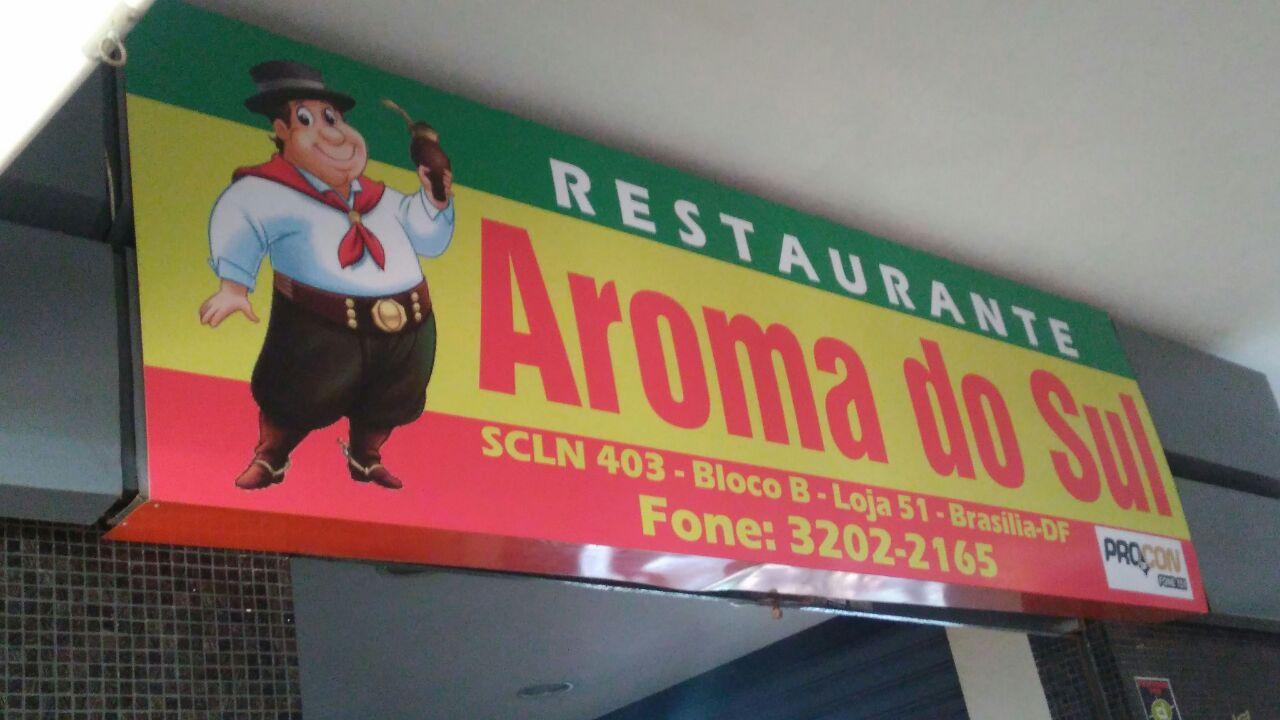 Restaurante Aromo do Sul, CLN 403, Norte, Bloco B, Asa Norte, Comércio Brasilia